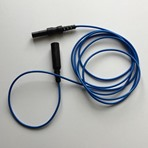 200cm Touchproof Extension cable, Blue